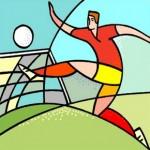Межцерковный футбольный матч в Генте 26.04.2014