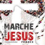 20 мая 2017 прошел марш для Исуса в Париже
