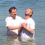Водное крещение брата Юрия 25 мая 2017